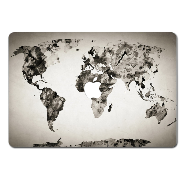 Map of the world laptop sticker map of the world laptop sticker 2016 laptop vinyl decal top sticker for macbook world continent gumiabroncs Gallery