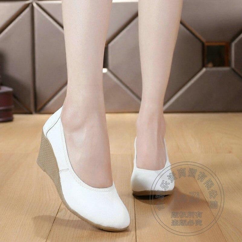 Footwear font b Women b font font b Woman b font Black White Slip On Soft