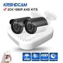 Security CCTV AHD KITS 1080N XVR full HD 1080P AHD Camera 3000TVL plastic outdoor bullet camera System surveillance night Vision