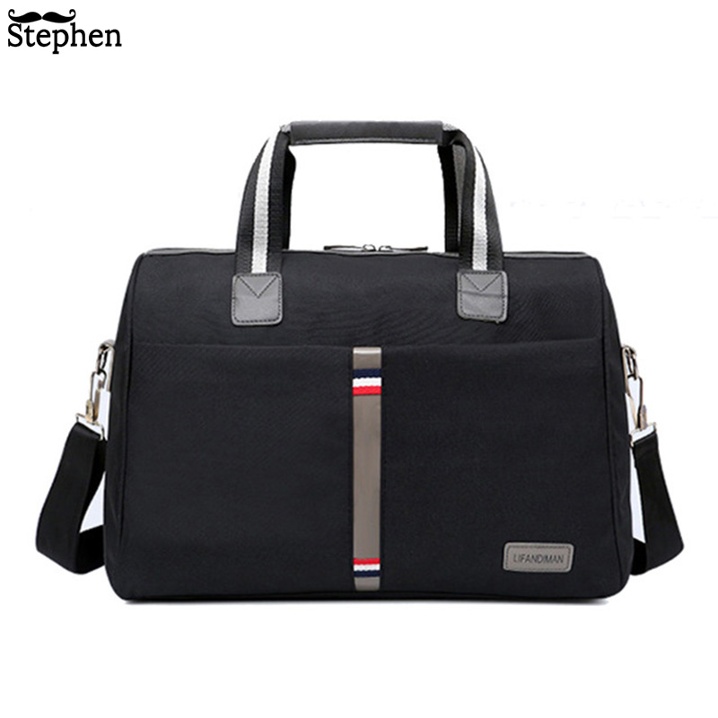 2019 Waterproof Men's Travel Bag Foldable Portable Shoulder Bags Travel Luggage Large Capacity Travel Tote Women More Colors
