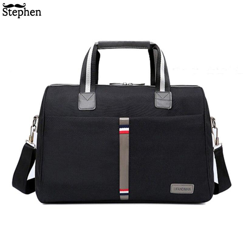 2019 Waterproof Men's Travel bag Foldable portable shoulder bags