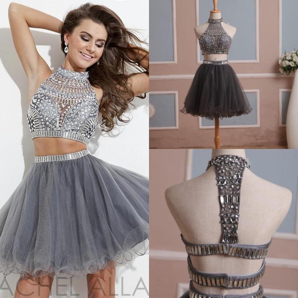 Black Short Tight Homecoming Dresses 2015