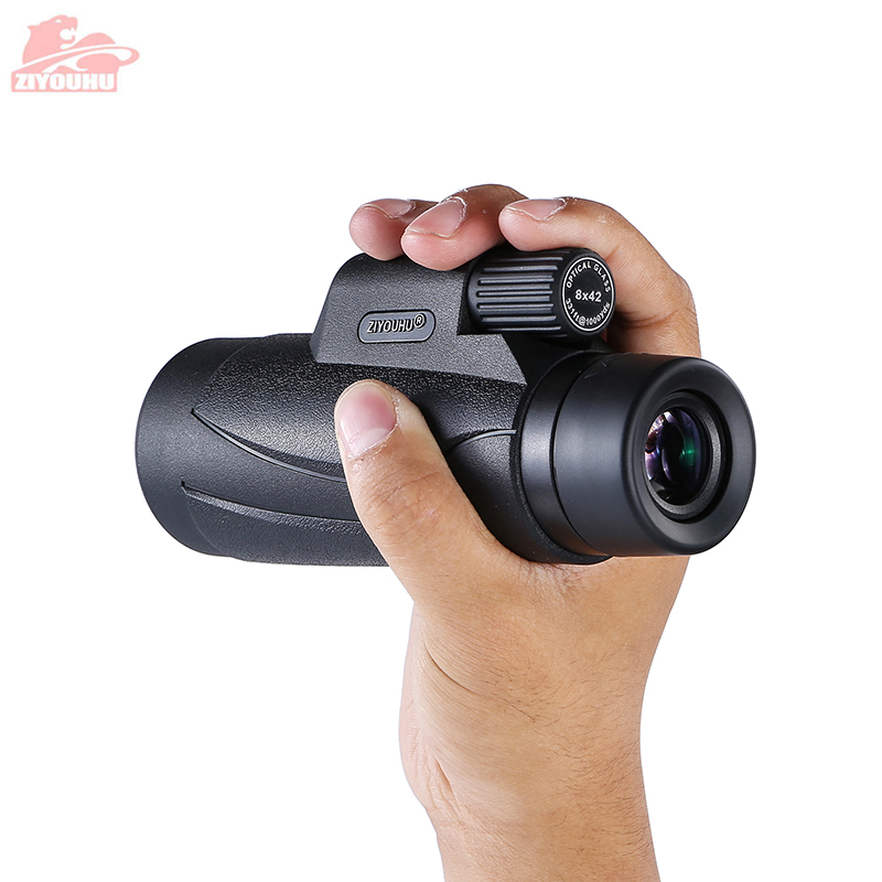 Image 5 - 10X42 Portable HD Monocular Telescope Multi Color Optional Daily Life Waterproof Telescopes Outdoor Hiking, Latest New Design-in Monocular/Binoculars from Sports & Entertainment