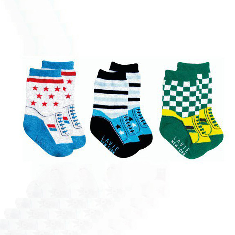 3 пары носков для малышей, нескользящие носки на резиновой подошве для маленьких мальчиков, детские носки, дешевые вещи для малышей