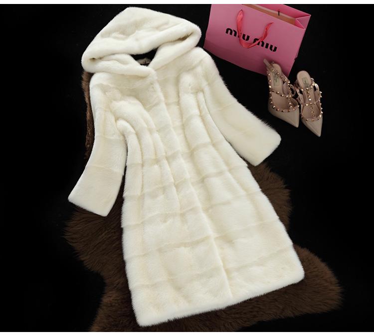 HTB1VO8GX0HEK1JjSZFGq6AjVFXad - Winter Hooded Faux Fur coat JKP0069