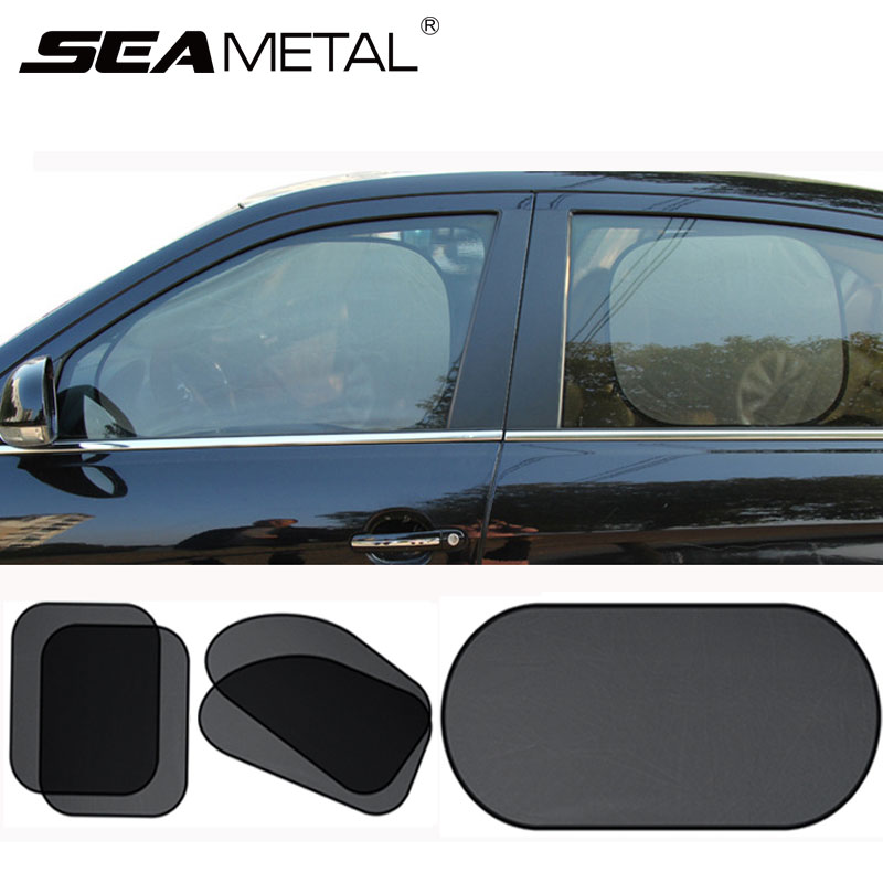Hot Sale Car Window Sunshade Curtains For Cars Sun Shade Curtain For Side Window Car Sunshade Universal Car Exterior Accessories