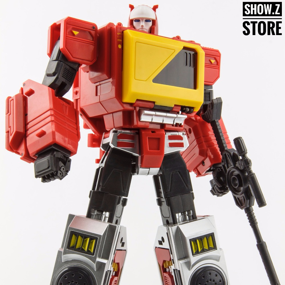 [Show.Z Store] KFC E.A.V.I. Metal Phase 4A Transistor & Hifi Pure Red Version Transformation Figure