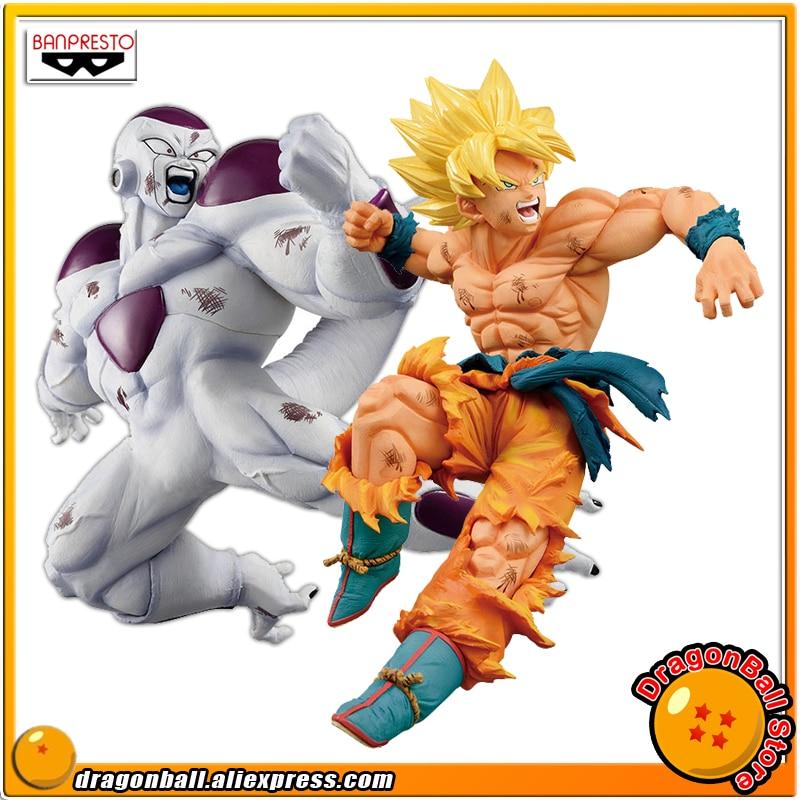 Japan Anime Dragon Ball Z Original Banpresto MATCH MAKERS vol 1 Collection Figure SUPER SAIYAN SON