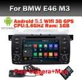 Заводская Цена 2 Din Автомобильный DVD GPS для bmw e46 навигации android 5.1 Wifi 3 Г Bluetooth Радио Стерео Аудио USB SD Рулевое Управление колеса