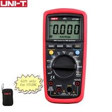 UNI-T UT139C Цифровой мультиметр Авто Диапазон True RMS метр Ручной Тесты er 6000 граф вольтметр Температура Тесты транзисторы