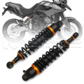 "Universal 12.5"" 320mm Motorcycle Air Shock Absorber Rear Suspension Spring Damper Replacement For Yamaha Black D30"