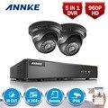 ANNKE 4CH HD-TVI 1080 P Lite Охранная Система ВИДЕОНАБЛЮДЕНИЯ DVR и (2) 960 P Открытый Фиксированным Всепогодный Камеры Видеонаблюдения комплект