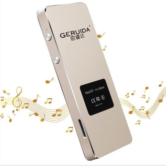 GERUIDA Bluetooth HIFI Reproductor MP4 8G Teclas táctiles MP3 - Audio y video portátil - foto 4