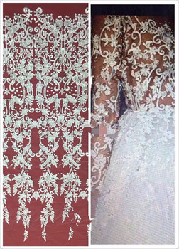 High Quality SYJ-72736 African Tulle Lace Fabric For Wedding Latest African French Lace Fabric