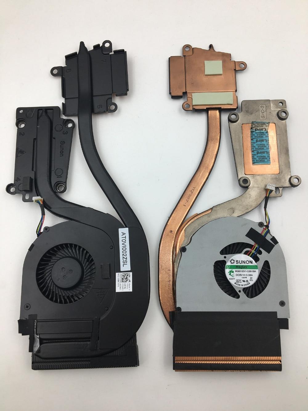 Оптовая продажа, новый вентилятор охлаждения процессора SSEA с радиатором для ноутбука Dell Latitude E6540, DP/N: 072XRJ 72XRJ