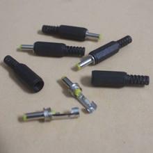 10 pcs DC Power 4.0x1.7mm Macho Conector Adaptador Cabo de Plástico Cabeça Amarela