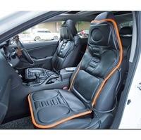 Heating Massage Vehicle Seat Cushion Mat Full Body Cervical Vertebra Neck Waist Back Acupressure Massage Car
