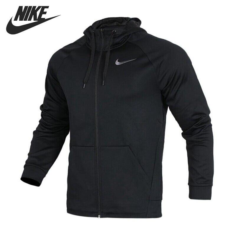 Original New Arrival 2018 NIKE THRMA HOODIE FZ Men's Jacket Hooded Sportswear original new arrival 2018 nike sportswear windrunner men s jacket hooded sportswear