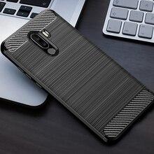 シリコーンカーボン電話ケース Xiaomi Pocophone F1 繊維耐衝撃 TPU バックカバー xiaomi PocophoneF1 F1Poco Xiomi ケース s