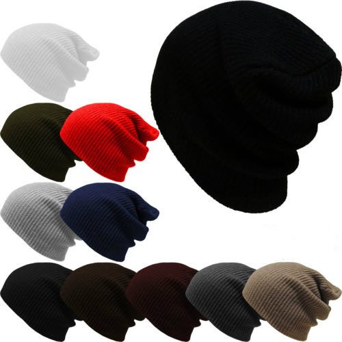 2016 Fashion Solid Stripes Hats for Men and Women Winter Knitting Hip Hop Beanies Hat Outdoor Warm Hedging Headwear Toucas Gorro fashion fold knitting hat toucas skullies beanies men winter women hats hip hop gorros outdoor warm headwear girl ear protection