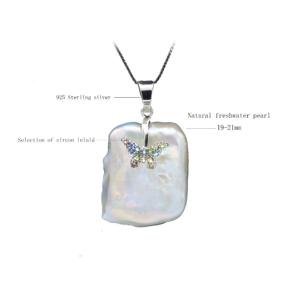 38928ddb0941 JYX de suéter collares larga ronda blanco Natural 8-9mm collar de perlas  naturales de