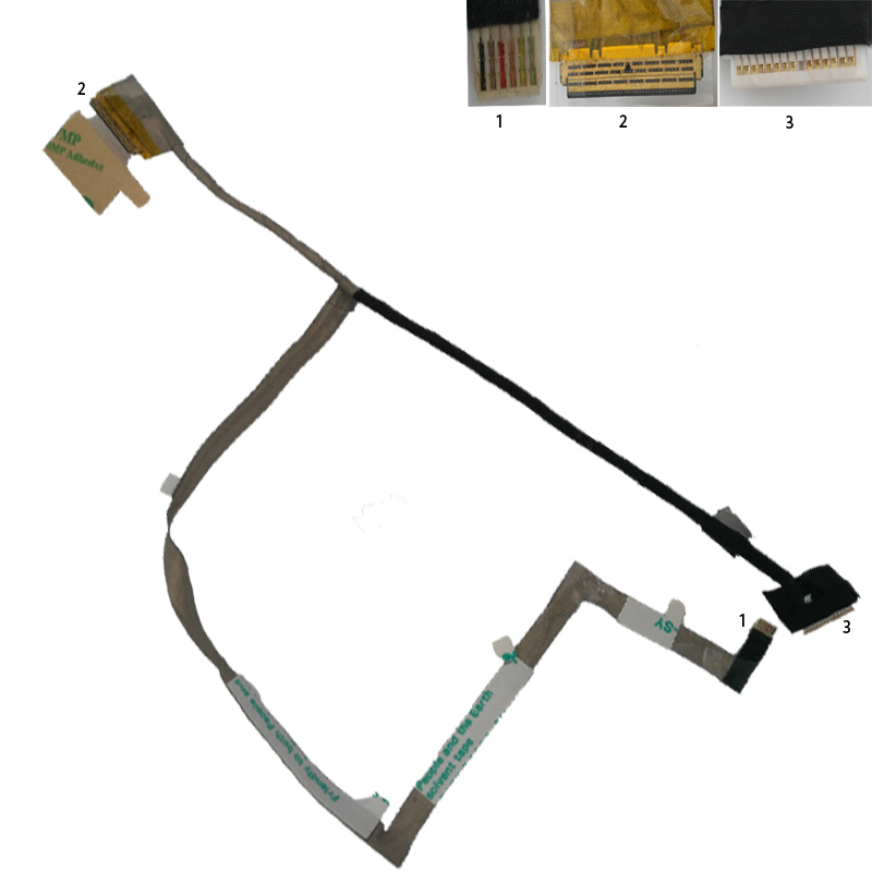 NEW <font><b>Laptop</b></font> LCD Cable For <font><b>Samsung</b></font> NP450R4Q <font><b>NP470R5E</b></font> NP510R5E NP370 P/N BA39-01303A Repair Notebook LCD LVDS CABLE image