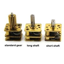 DC N20 6 в торможение головы небольшой микро скорость редуктор мотор для автомобиля Робот редуктор Мотор низкая скорость
