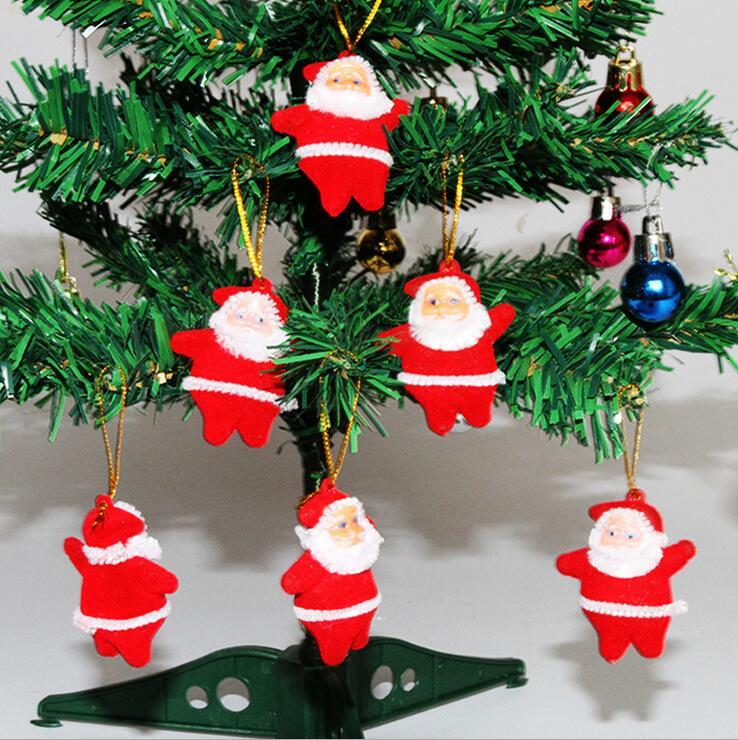 adornos para rboles de navidad de santa claus para rboles de navidad adornos colgantes red