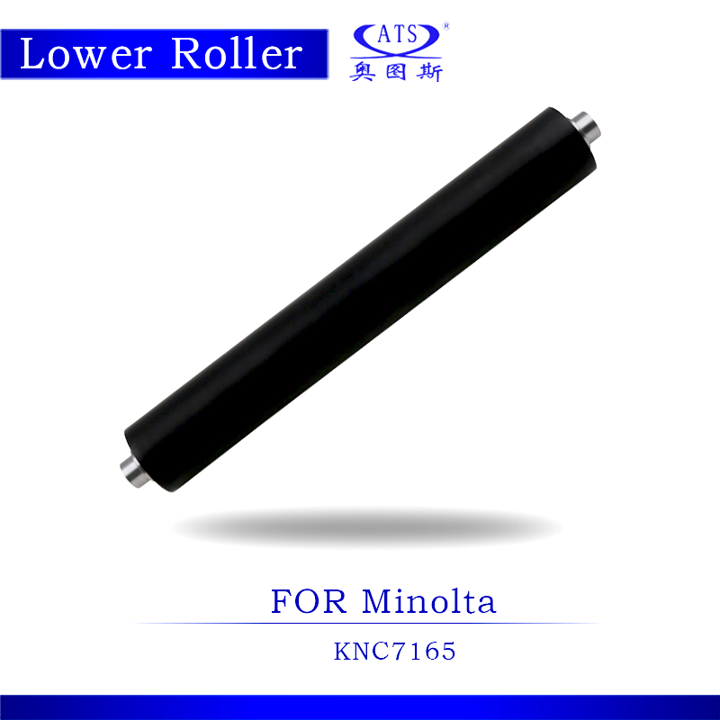 K7165 Lower Pressure Fuser Roller For Konica Minolta Bizhub K 7165 Photocopy Machine Copier Spare Parts hot 400000 pages dedicated japan opc drum for konica minolta bizhub 600 601 750 751 7155 dr 710 02xl long life copier parts