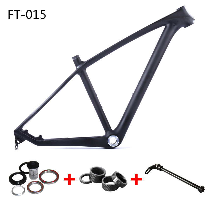 China Factory Cheap Carbon Frame MTB 27.5er/29er Disc 3k Glossy 17 and 19 for 29er Bike With 2 Years Warranty china factory cheap carbon frame mtb 27