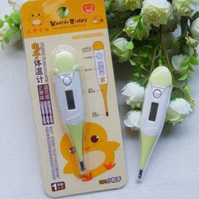 Envío libre electrones niño termómetro clínico/niño termómetro electrónico termómetro/termómetro de la pluma