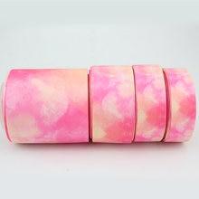 Яркая розовая лента в рубчик украшение для свадебной вечеринки