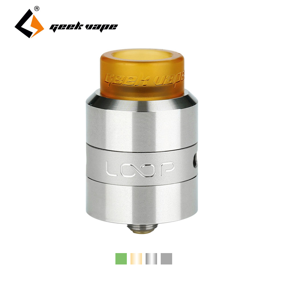 New Original Geekvape Loop RDA Tank All-new Surround Airflow System No-leaking Ecigarette Vape Atomizer Turkey shipping E cigs