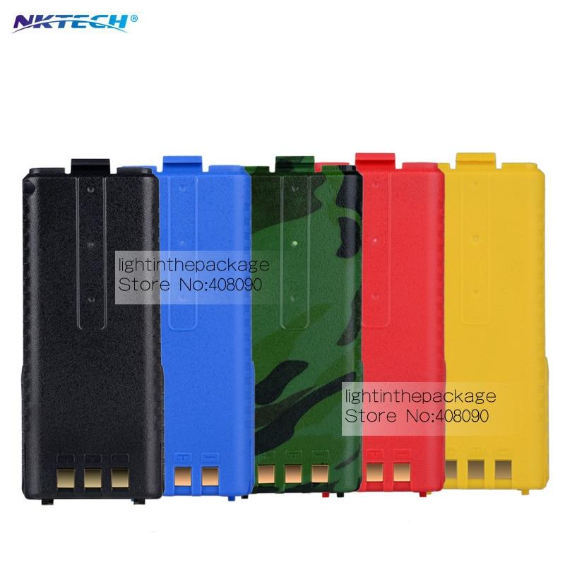 imágenes para Nktech 7.4 v grande 3800 mah batería para radio baofeng uv-5r partes bao feng original 3800 mah pufong uv5r baofeng uv 5r accesorios
