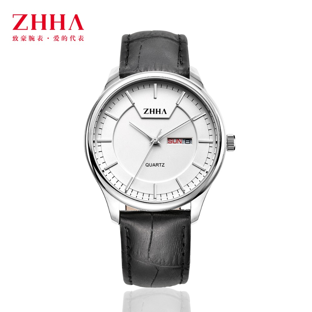2016 New Brand Luxury Quartz Watch lovers Couple Watches Women Men Watches Leather Strap Dress Wristwatches