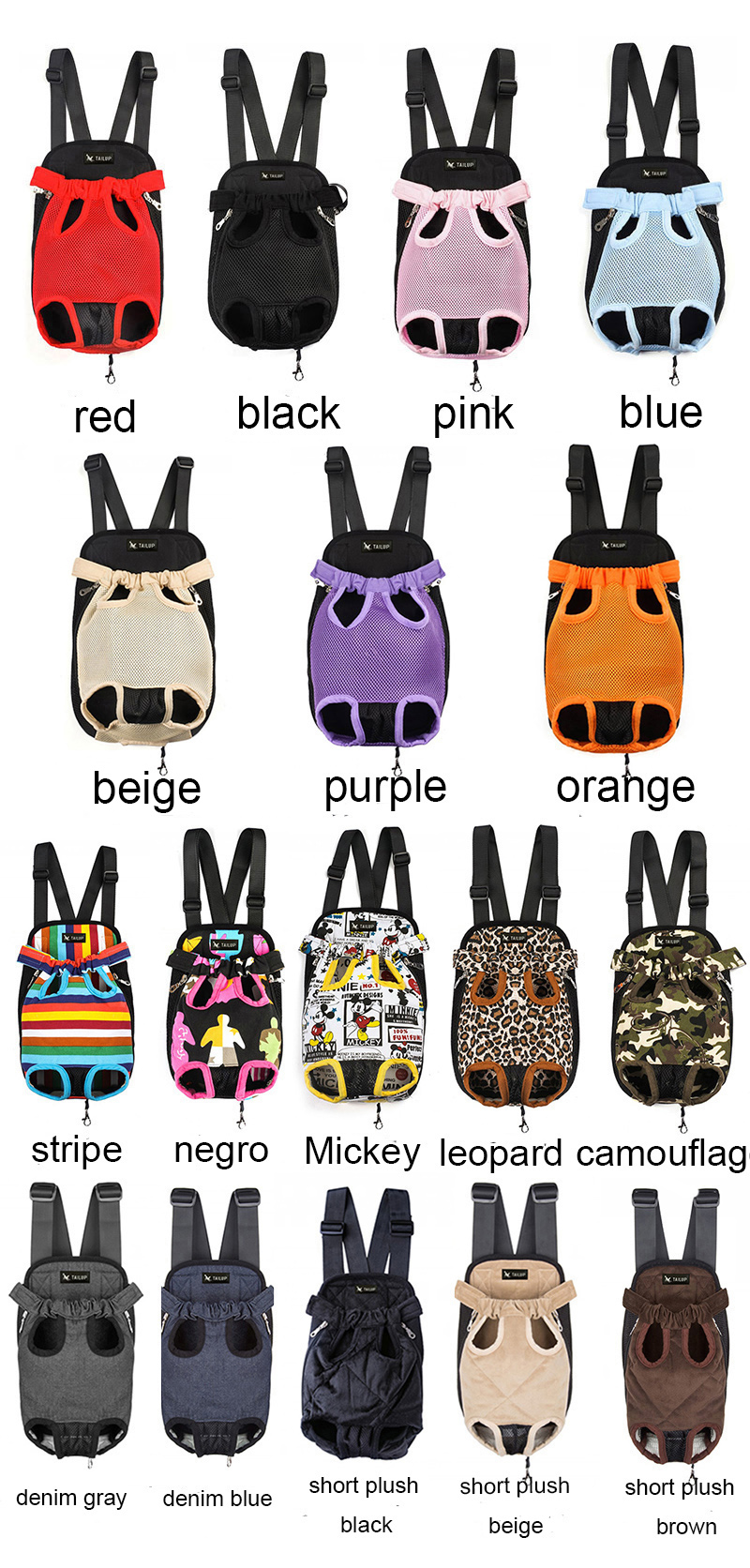 Cute Small Dog Backpack Carrier 9