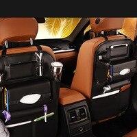 Multi Pockets Travel Storage Bag Ipad Holder Auto Seat Back Organizers Drinks Holder Car Seats Storage