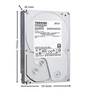"Image 2 - TOSHIBA DVR NVR CCTV 2TB Hard Drive Disk 2000GB HDD HD Internal SATA 3 5700RPM 32M 3.5"" Harddisk Harddrive"