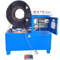 KYJ6102JX 4 дюймов гидравлических шлангов обжима машина + 16 абразивных формы высокого качества Металлообработка гидравлические трубогибы 380 В/220