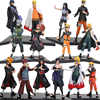 14-24cm 2 teile/satz Naruto Shippuden PVC Figuren Set Hatake Kakashi Shikamaru Namikaze Uchiha Sasuke Minato Hyuuga Hinata modell Spielzeug