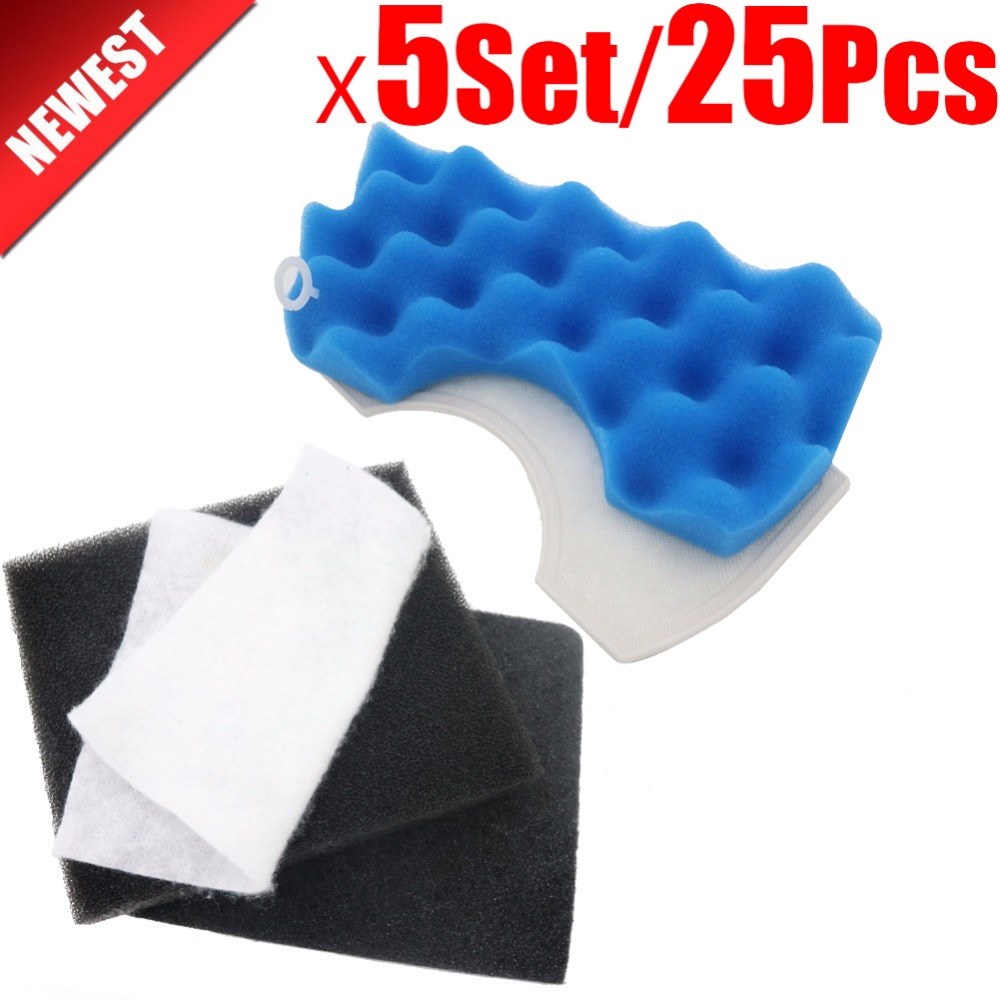 5Set/25pcs Vacuum cleaner parts dust motor filters Hepa For Samsung MICRO FILTER CLEANER DJ63-00669A SC43 - 47 SC43 SC47 ser original oem vacuum cleaner air inlet filters protect motor filter efficient filter dust 116x114mm vacuum cleaner parts