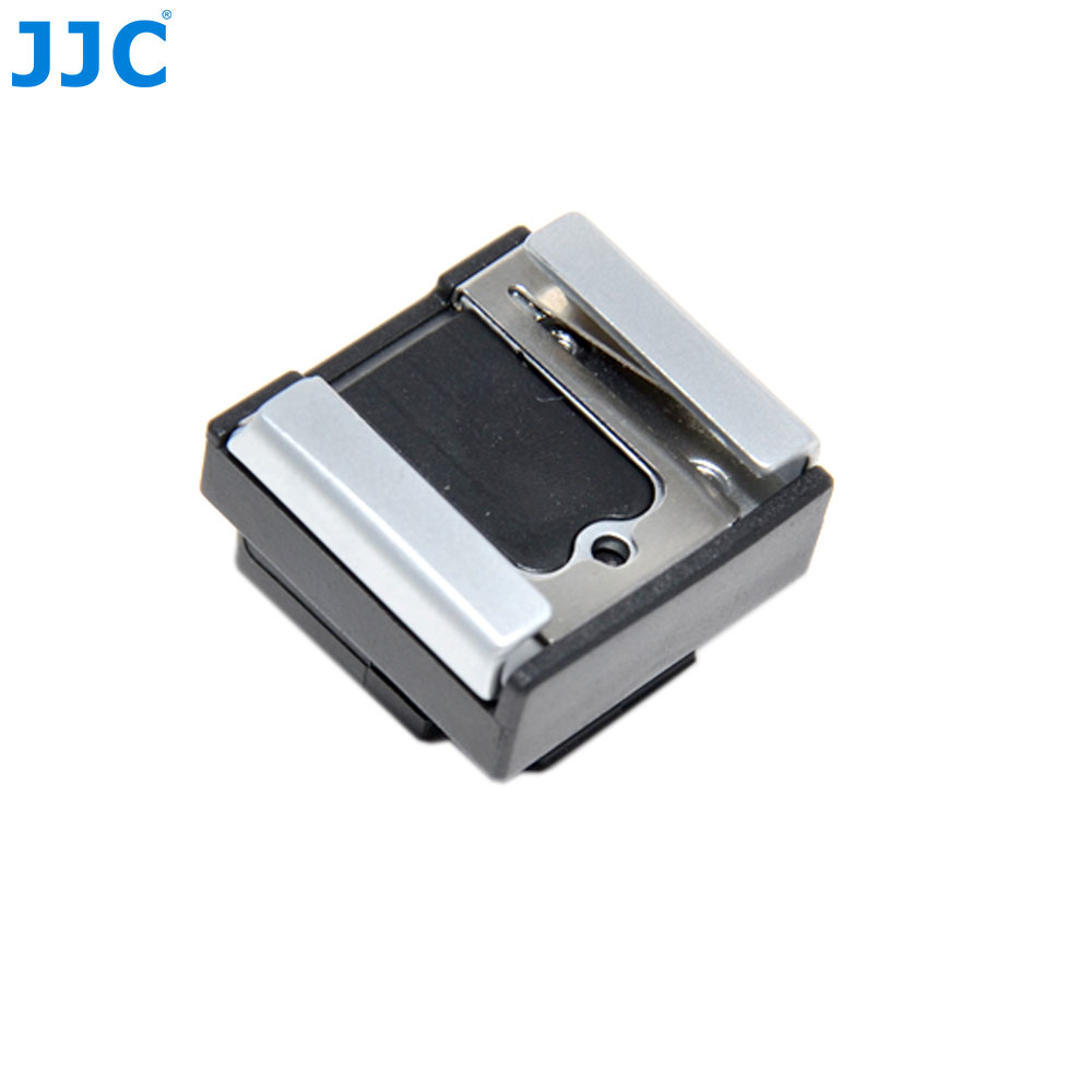 JJC Camera Shoe Adapter for Nikon1 Multi Port to Universal Standard LED Light Flash Hot Shoe Mount Accessories Replace AS-N1000