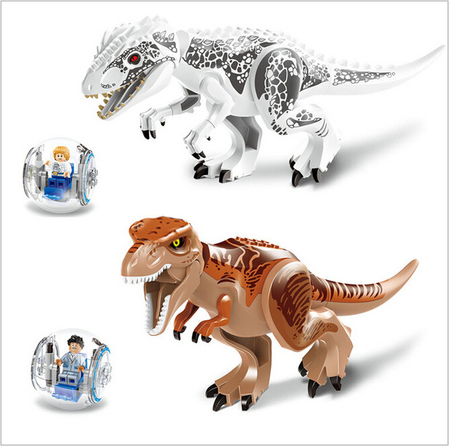 2017 Christmas Original Christmas World Building Blocks Sets Model Kids Toys Jurrassic Park Figures Bricks Toys