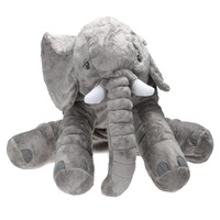 65cm Large Plush Elephant Doll Toy Baby Kids Sleeping Back Cushion Elephant Doll Baby Doll Birthday
