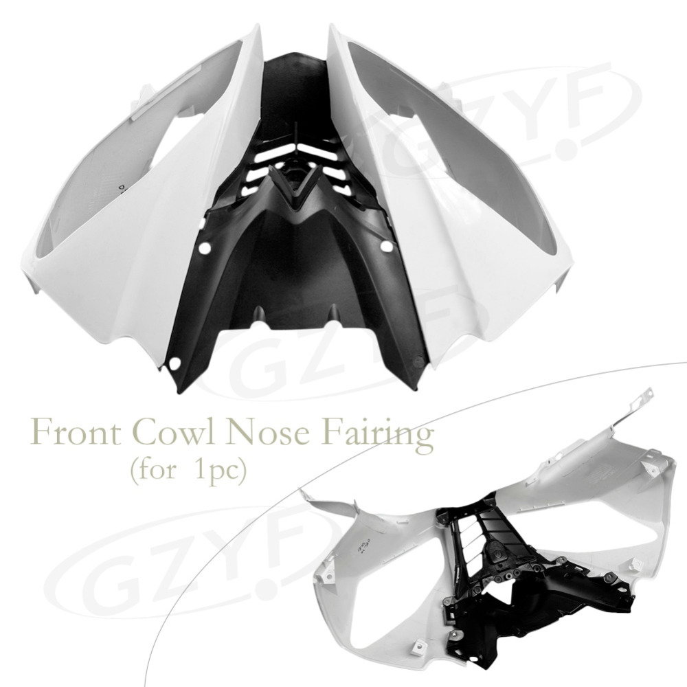 ᗖ2008 2009 2010 para Yamaha YZF R6 ABS nariz superior frontal del ...
