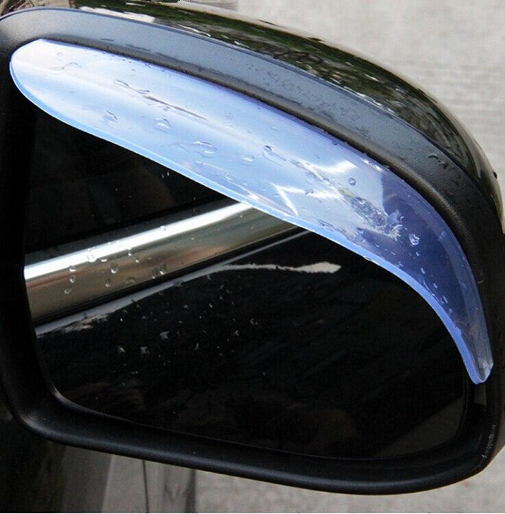 Image 5 - Универсальные автомобильные аксессуары, зеркало заднего вида, дождевик для бровей, дождевик для Renault sceni c1 2 c3 modus Duster Logan Sandero-in Наклейки на автомобиль from Автомобили и мотоциклы