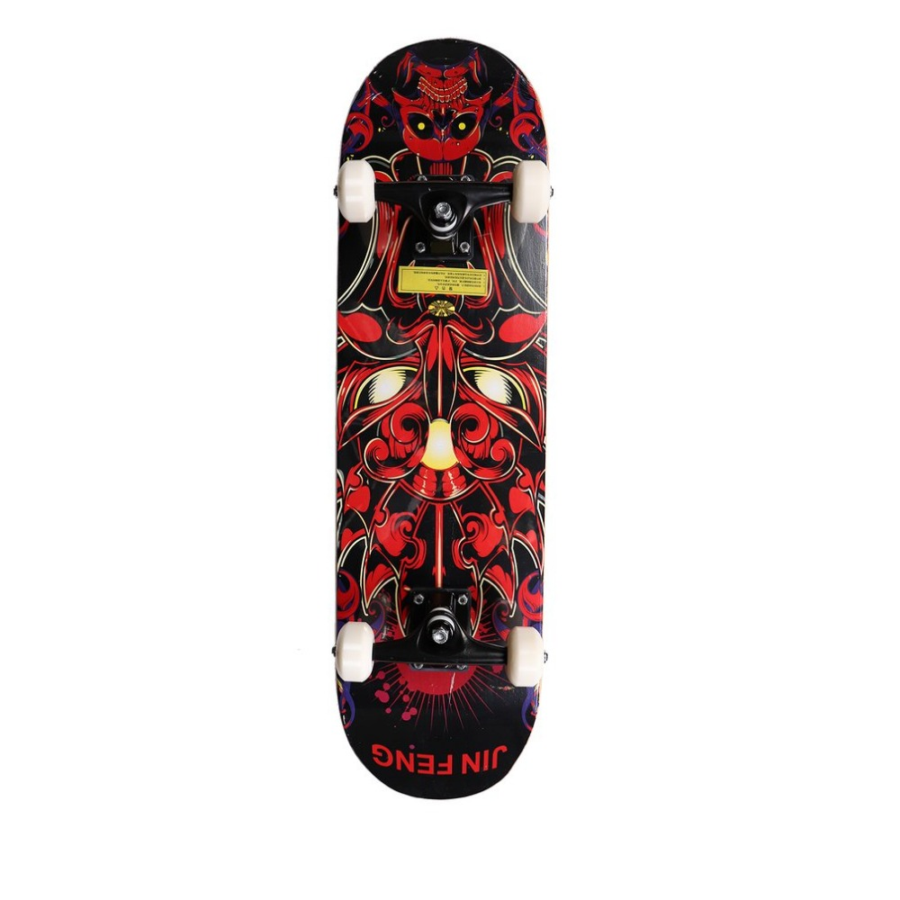 2018 Double Kids and Adults Skateboard Cruiser 31 x 8 Concave Deck Four-wheel Long Skateboard Cruiser Longboard Skates Board 6 5 adult electric scooter hoverboard skateboard overboard smart balance skateboard balance board giroskuter or oxboard