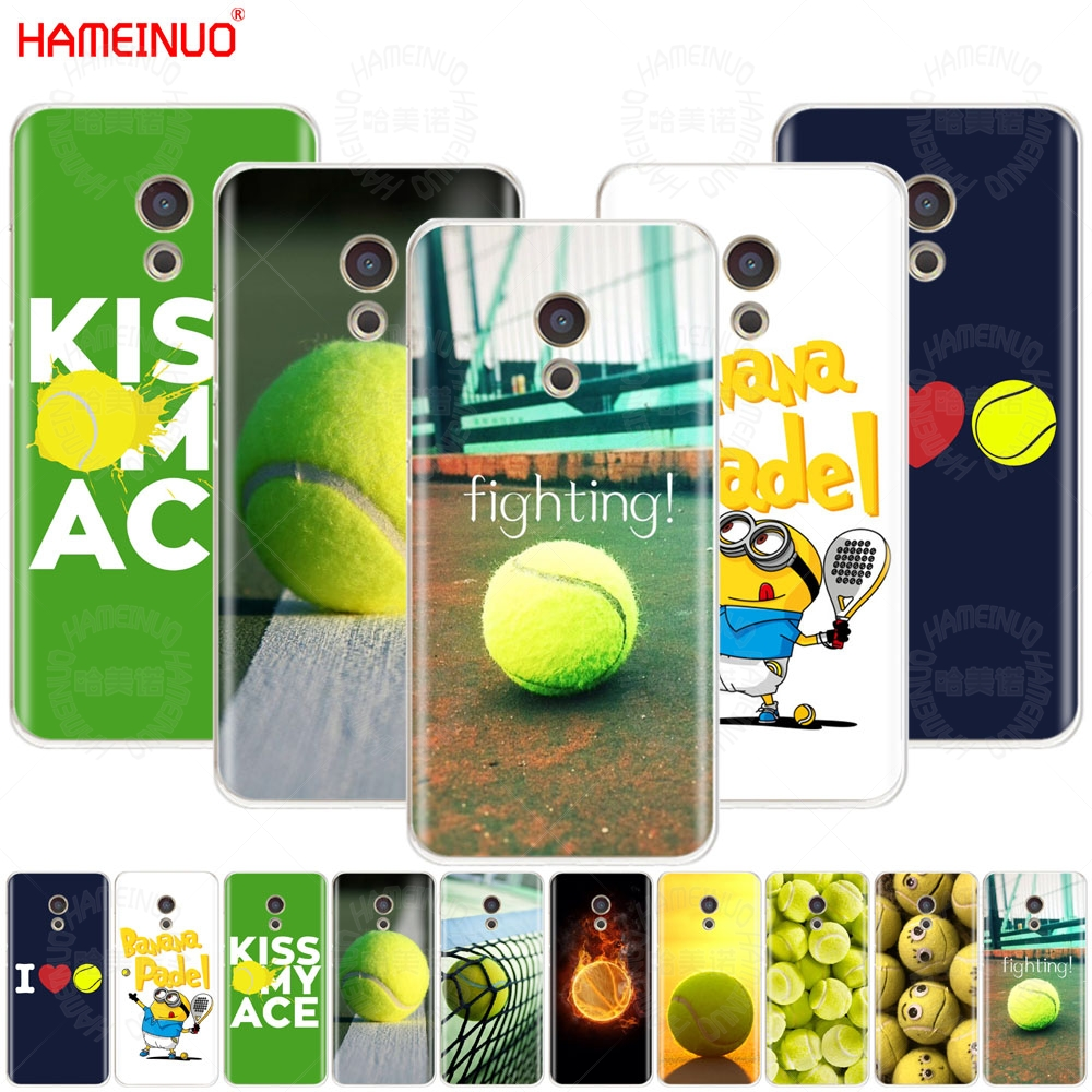 HAMEINUO tennis ball movement Cover phone Case for Meizu M6 M5 M5S M2 M3 M3S MX4 MX5 MX6 PRO 6 5 U10 U20 note plus