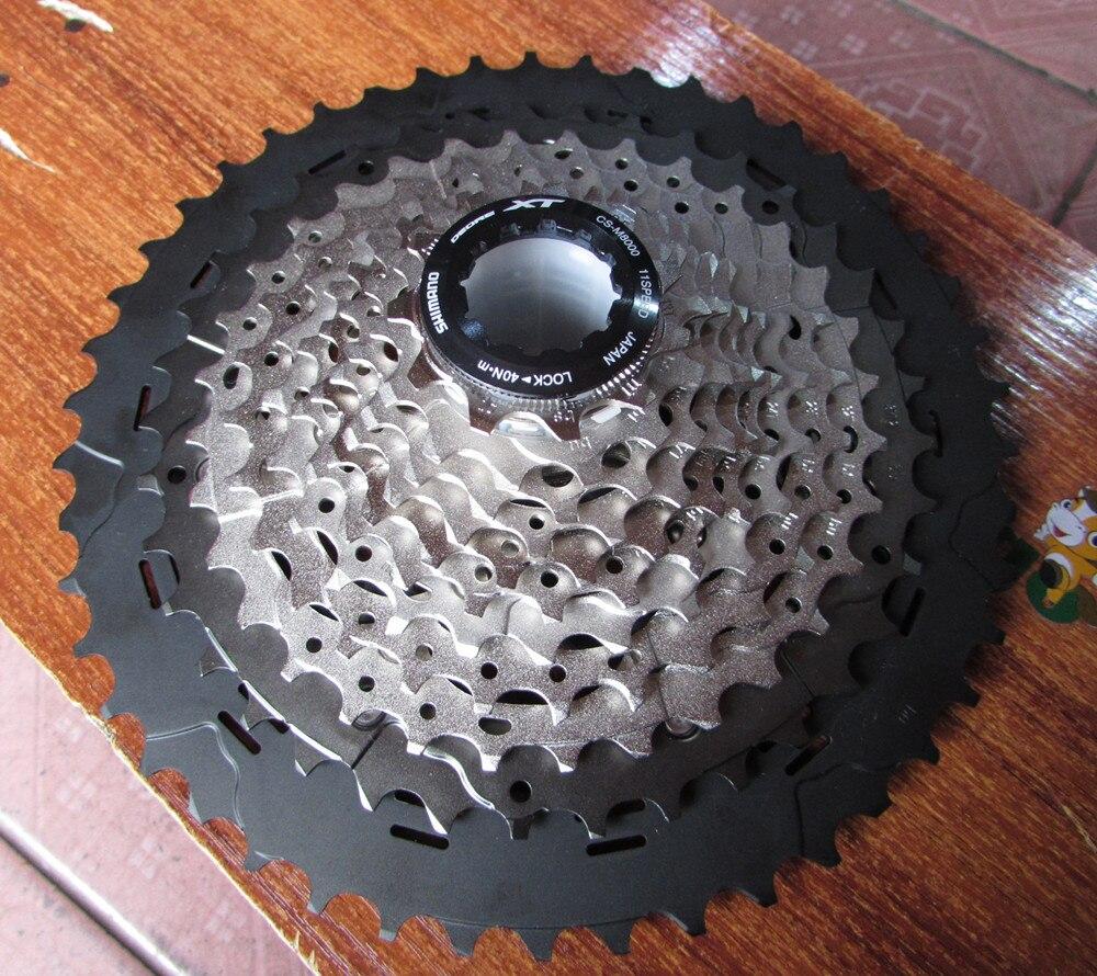 Новые Шимано ХТ в CS-M8000 MTB велосипед колеса кассета 11-40/11-42Т 11-46T 11 скорость