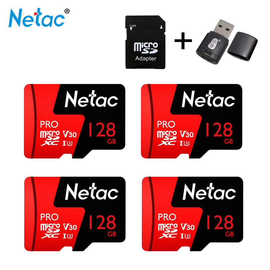 Netac Micro SD Card 128GB Class10 Memory card 128 gb memory stick for phone Microsd Trans Flash video card